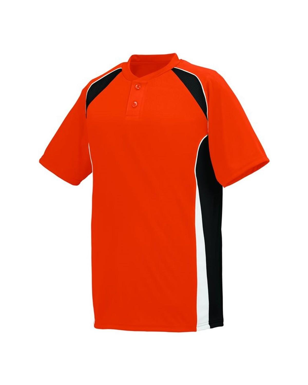 1541 Augusta Sportswear Orange/ Black/ White