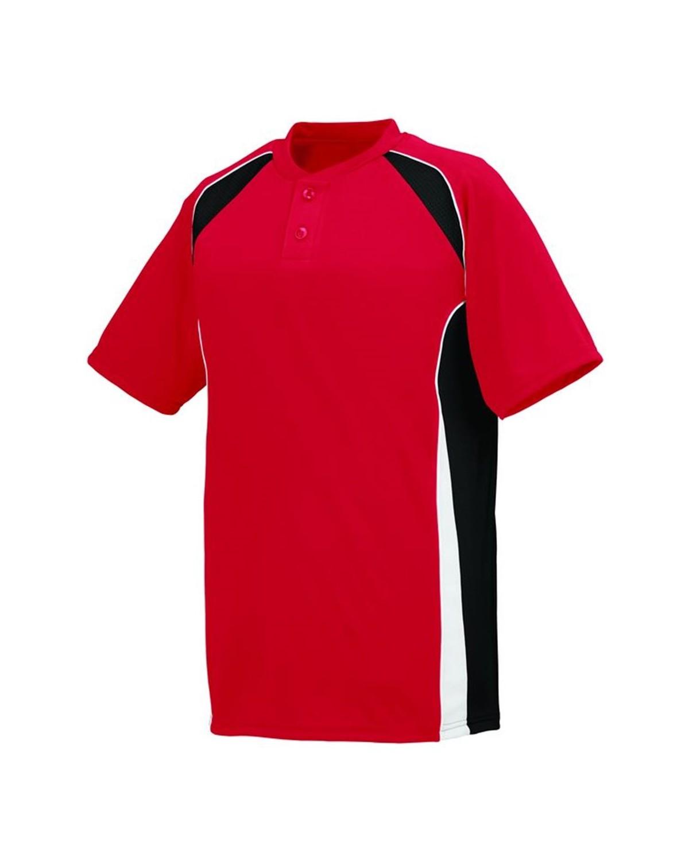 1541 Augusta Sportswear Red/ Black/ White