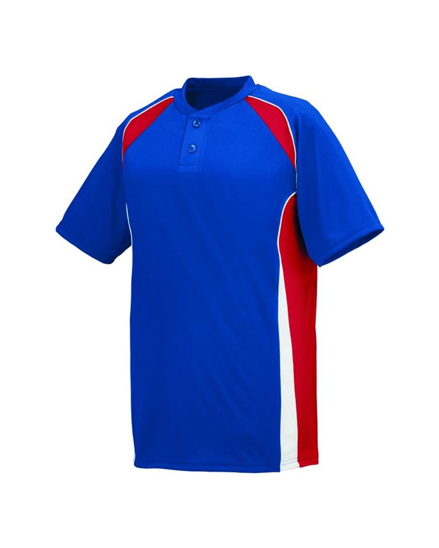 1541 Augusta Sportswear Royal/ Red/ White