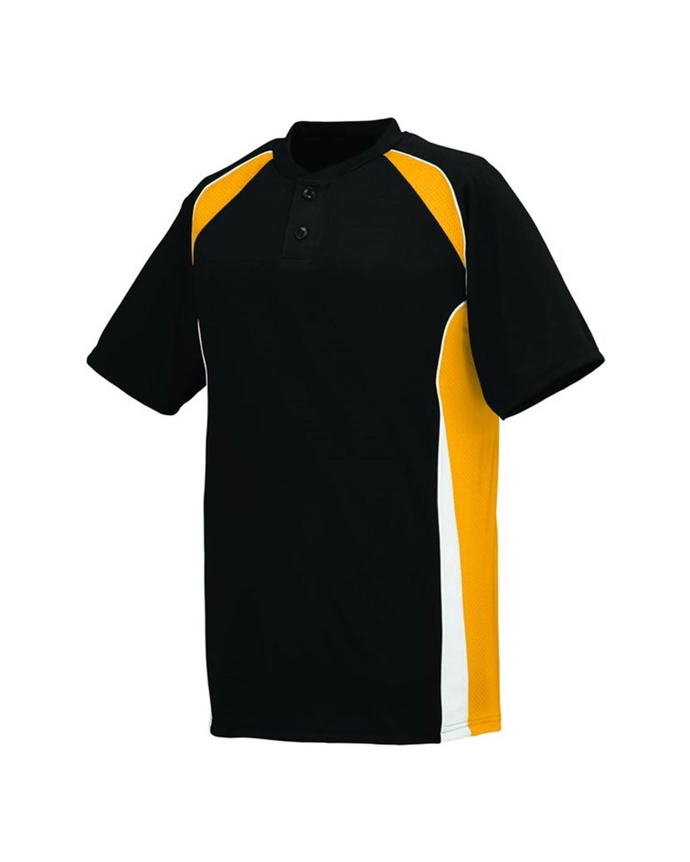 1541 Augusta Sportswear Black/ Gold/ White