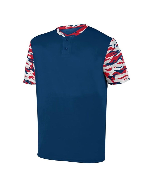 1548 Augusta Sportswear Navy/ Red/ Navy Mod