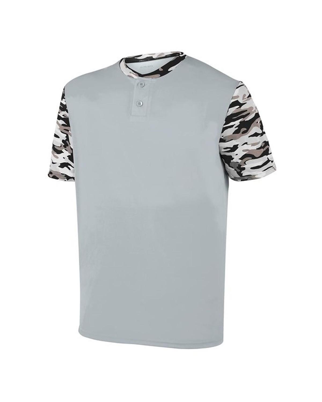 1548 Augusta Sportswear Silver/ Black Mod