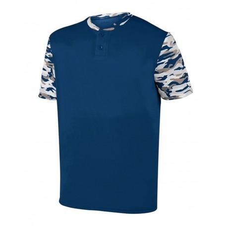 1548 Augusta Sportswear 1548 Pop Fly Jersey NAVY/ NAVY MOD