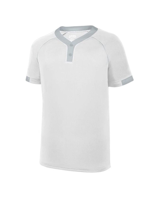 1552 Augusta Sportswear WHITE/ SILVER