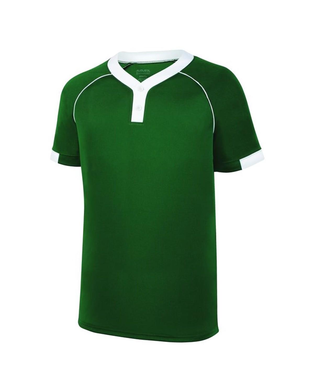 1552 Augusta Sportswear Dark Green/ White