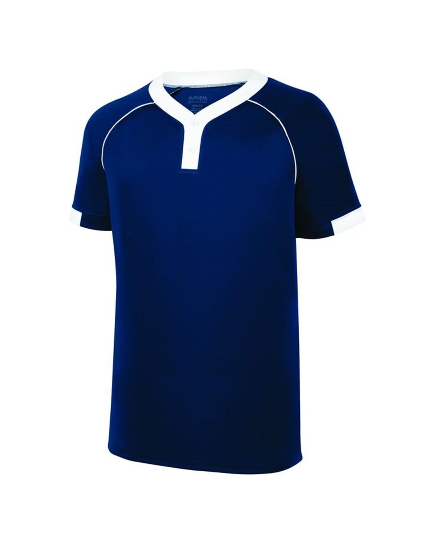 1552 Augusta Sportswear NAVY/ WHITE