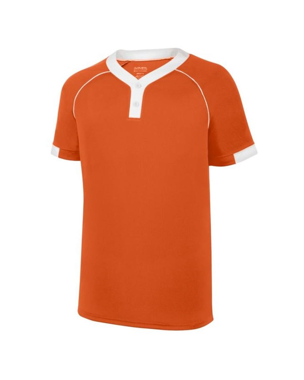 1552 Augusta Sportswear ORANGE/ WHITE
