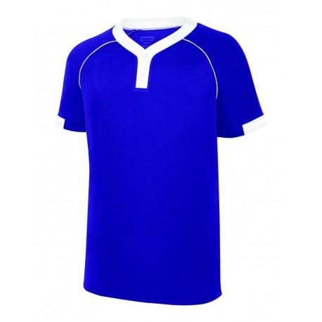1552 Augusta Sportswear 1552 Stanza Jersey PURPLE/ WHITE