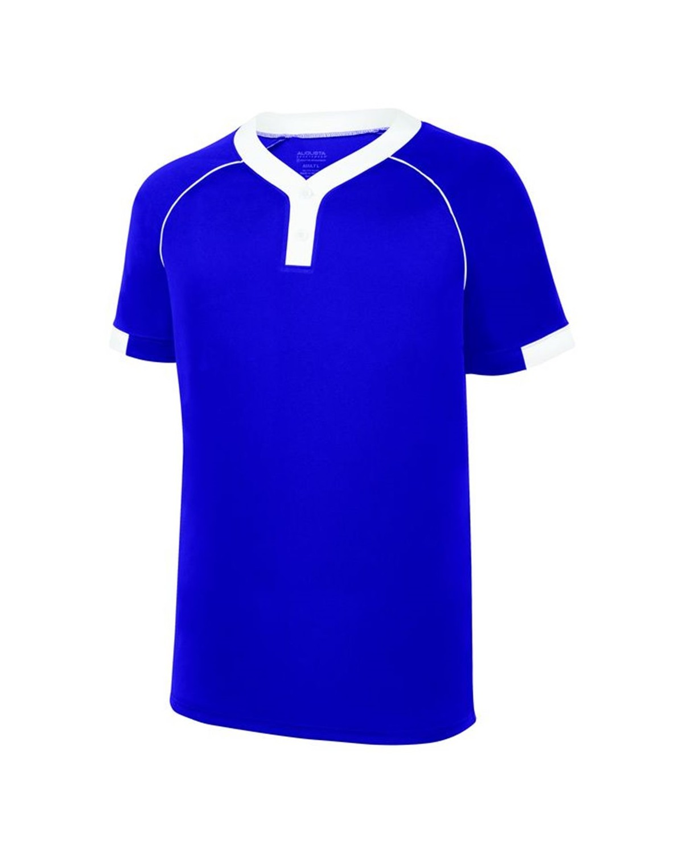 1552 Augusta Sportswear PURPLE/ WHITE