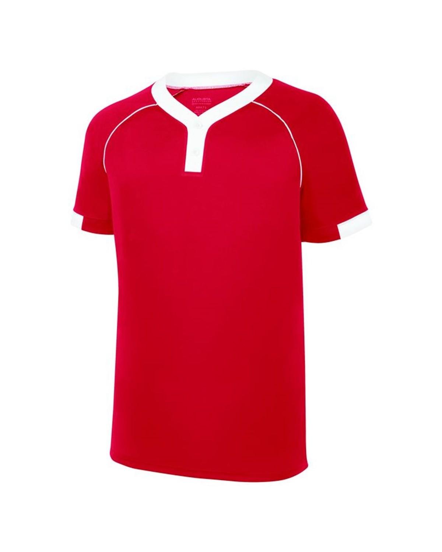 1552 Augusta Sportswear RED/ WHITE