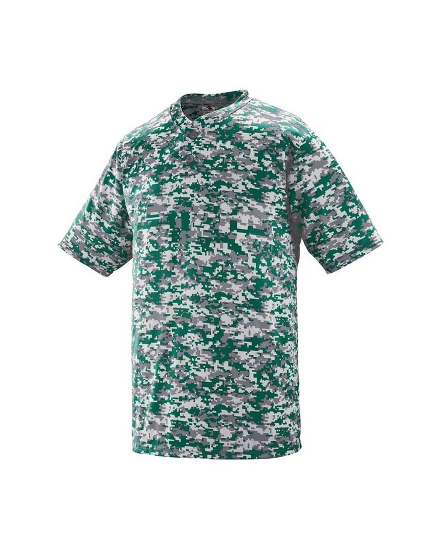 1556 Augusta Sportswear Dark Green Digi