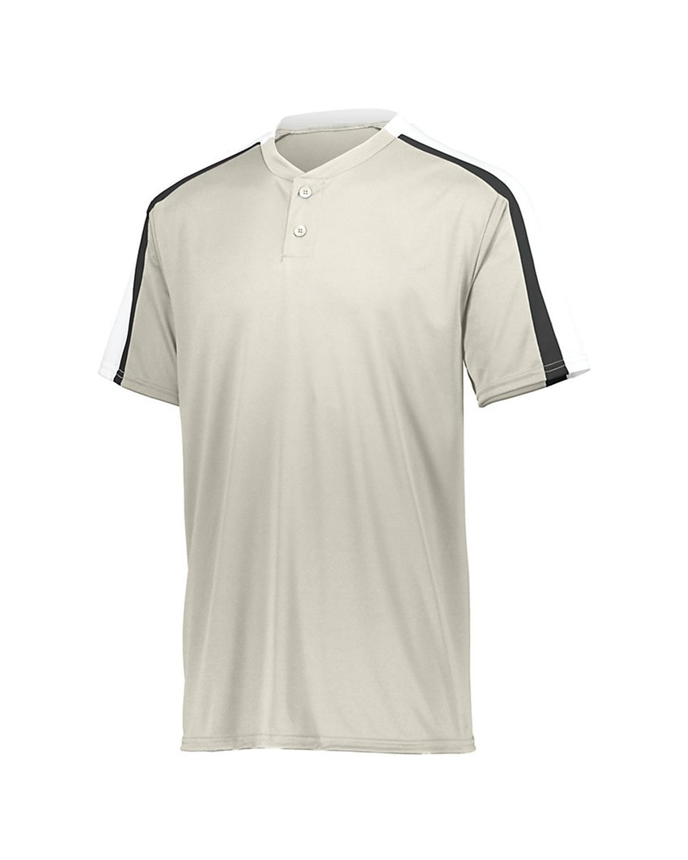 1557 Augusta Sportswear Silver Grey/ White/ Black