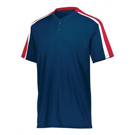 1557 Augusta Sportswear 1557 Power Plus Jersey 2.0 NAVY/ RED/ WHITE
