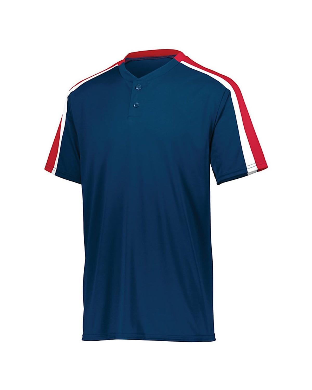 1557 Augusta Sportswear NAVY/ RED/ WHITE