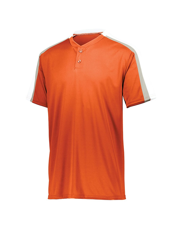 1557 Augusta Sportswear Orange/ White/ Silver Grey