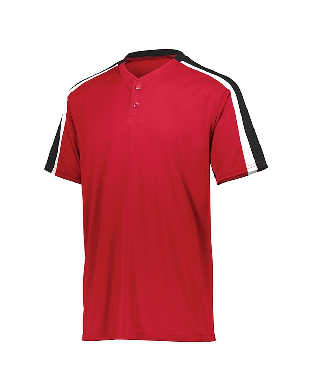 1557 Augusta Sportswear Red/ Black/ White