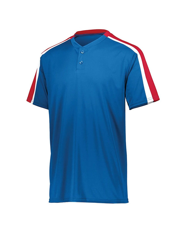 1557 Augusta Sportswear Royal/ Red/ White
