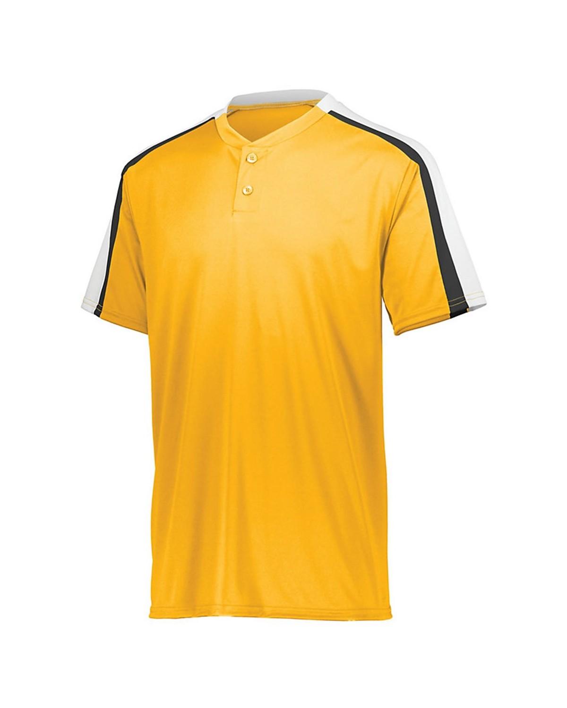 1558 Augusta Sportswear Gold/ White/ Black