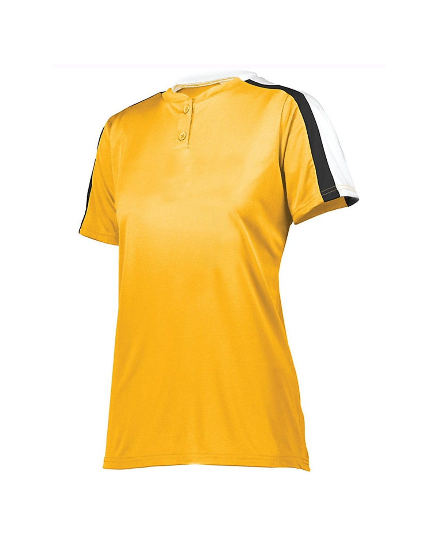 1559 Augusta Sportswear Gold/ White/ Black