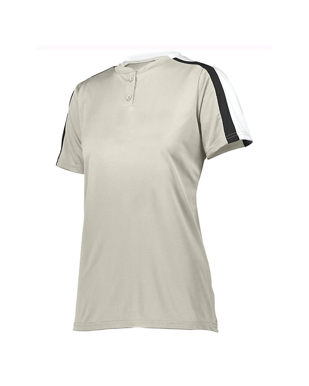 1559 Augusta Sportswear Silver Grey/ White/ Black