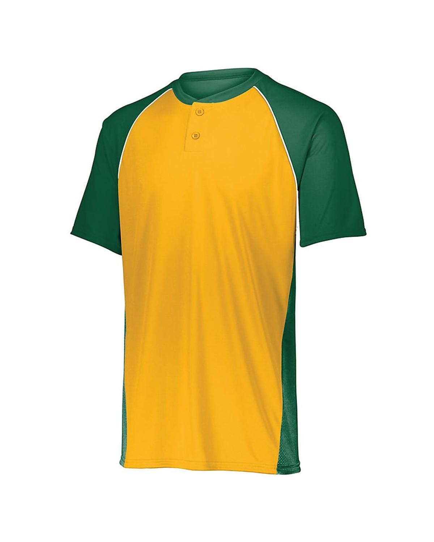 1560 Augusta Sportswear Dark Green/ Gold/ White