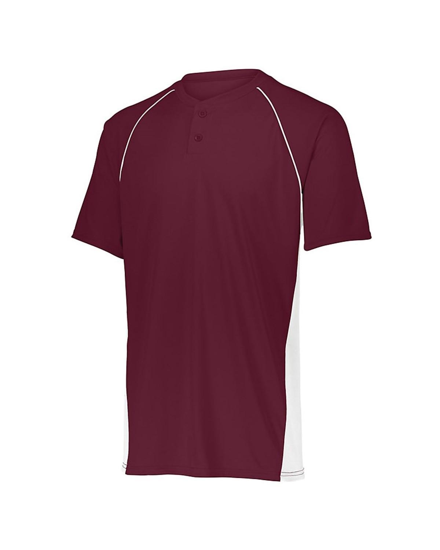 1560 Augusta Sportswear MAROON/ WHITE