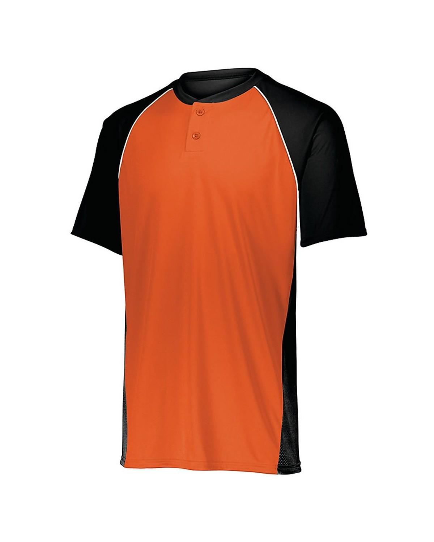 1560 Augusta Sportswear Black/ Orange/ White