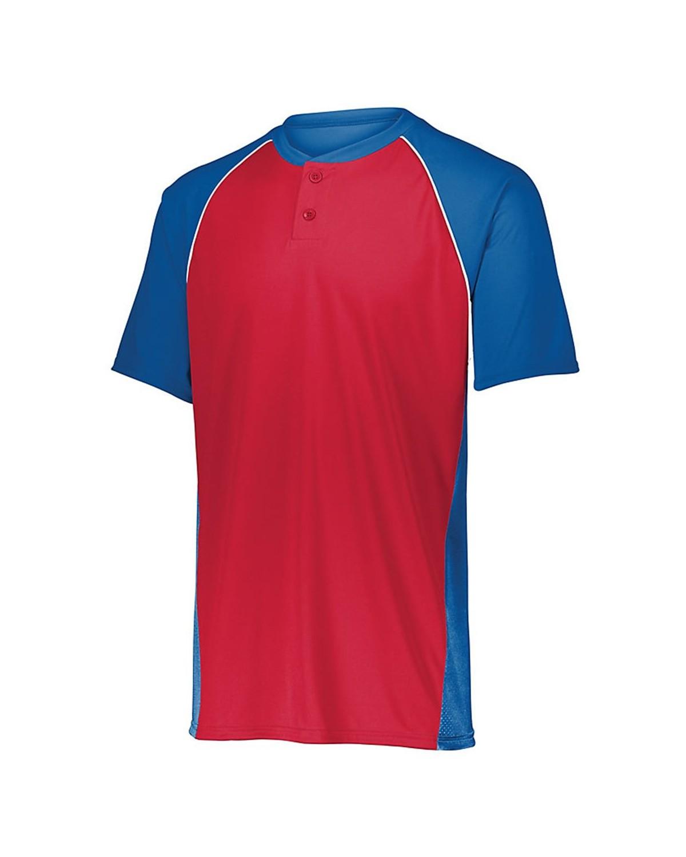 1560 Augusta Sportswear Royal/ Red/ White