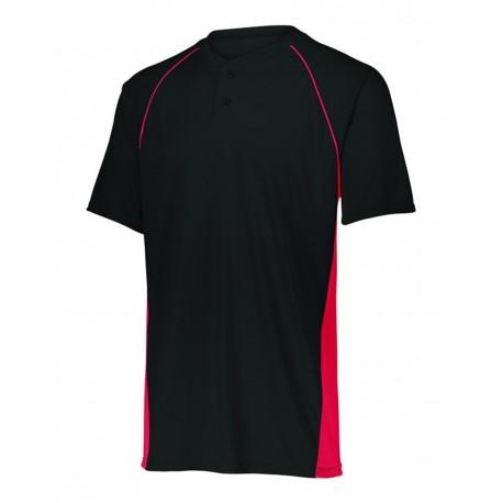 1561 Augusta Sportswear 1561 Youth Limit Jersey BLACK/ RED