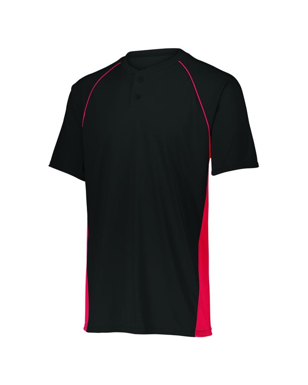 1561 Augusta Sportswear BLACK/ RED