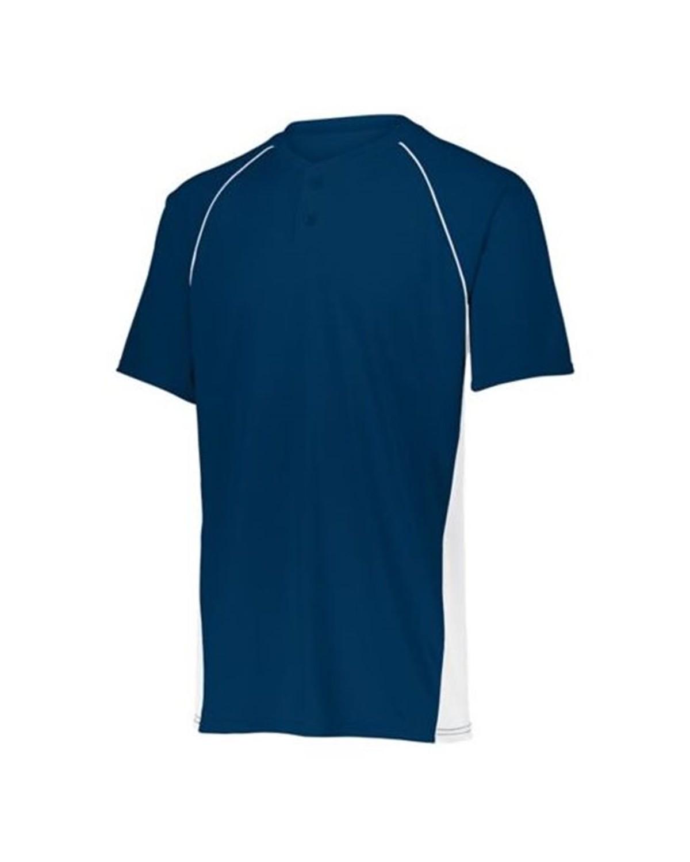 1561 Augusta Sportswear NAVY/ WHITE