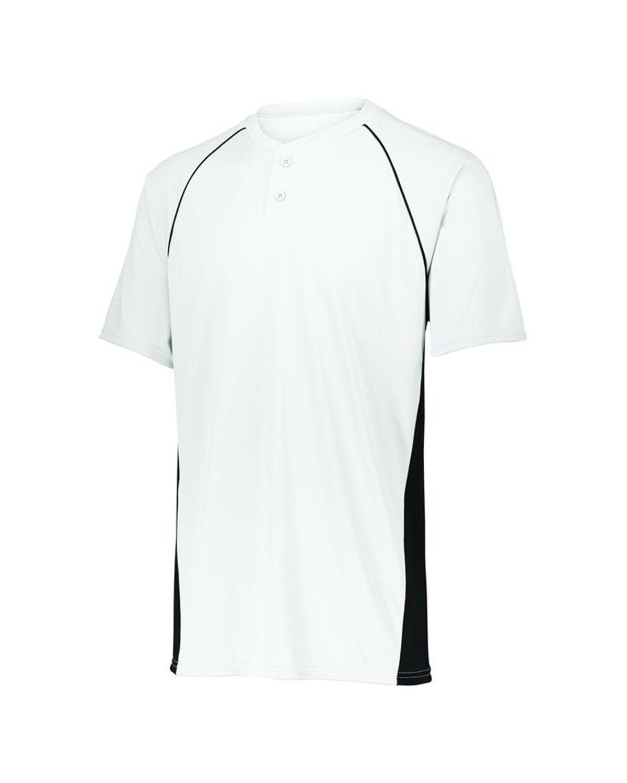 1561 Augusta Sportswear WHITE/ BLACK