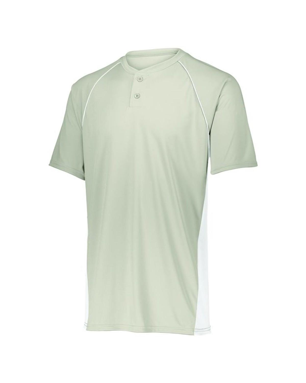 1561 Augusta Sportswear Silver Grey/ White