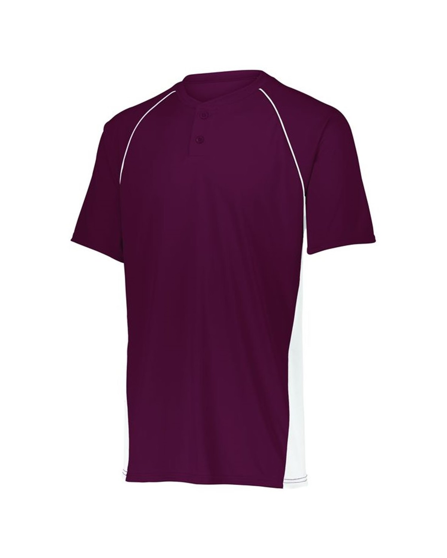 1561 Augusta Sportswear MAROON/ WHITE