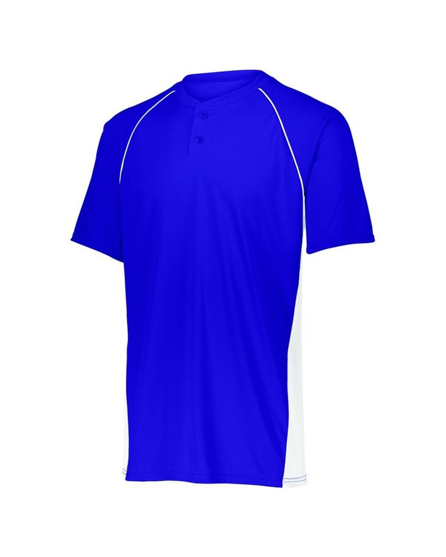 1561 Augusta Sportswear PURPLE/ WHITE