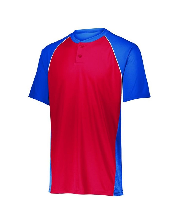 1561 Augusta Sportswear Royal/ Red/ White