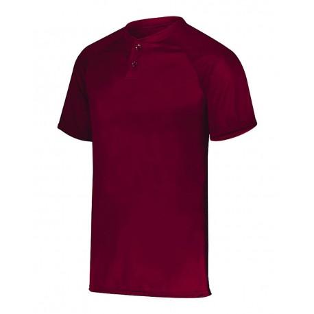 1565 Augusta Sportswear 1565 Attain Two-Button Jersey CARDINAL