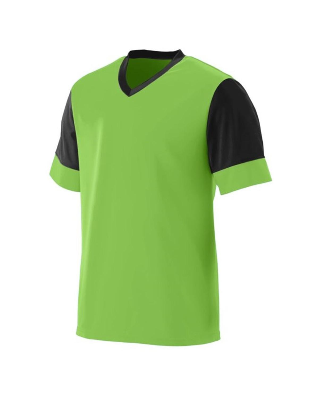 1601 Augusta Sportswear Lime/ Black