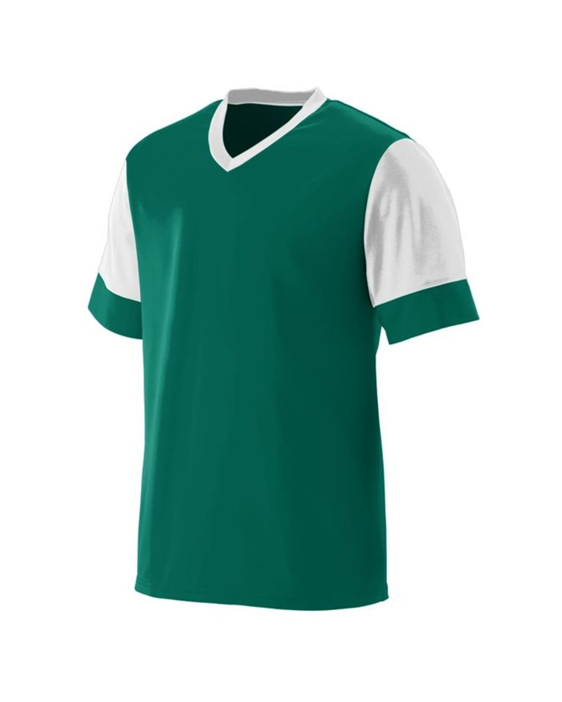 1601 Augusta Sportswear Dark Green/ White