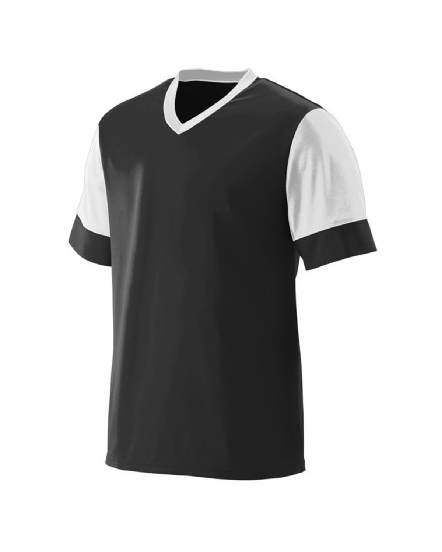 1601 Augusta Sportswear BLACK/ WHITE