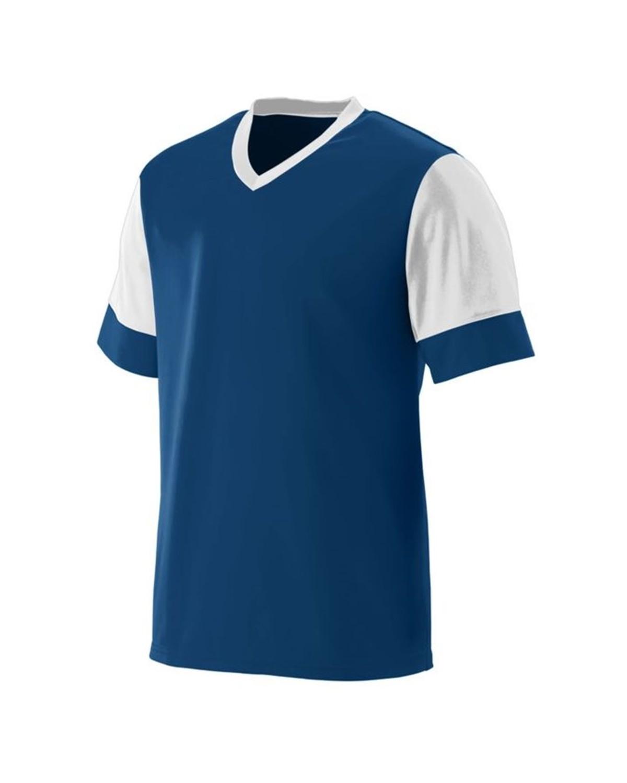 1601 Augusta Sportswear NAVY/ WHITE