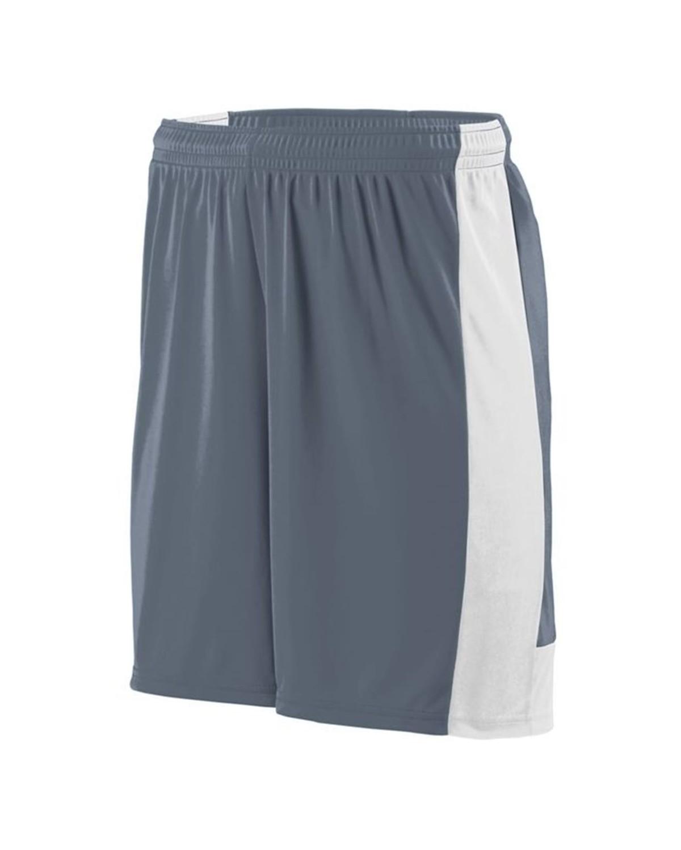 1605 Augusta Sportswear GRAPHITE/ WHITE