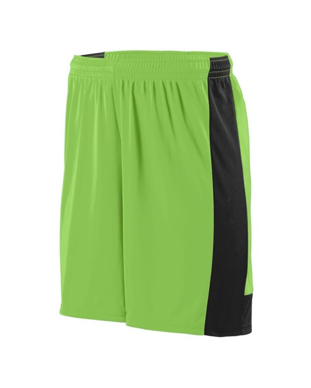 1605 Augusta Sportswear Lime/ Black