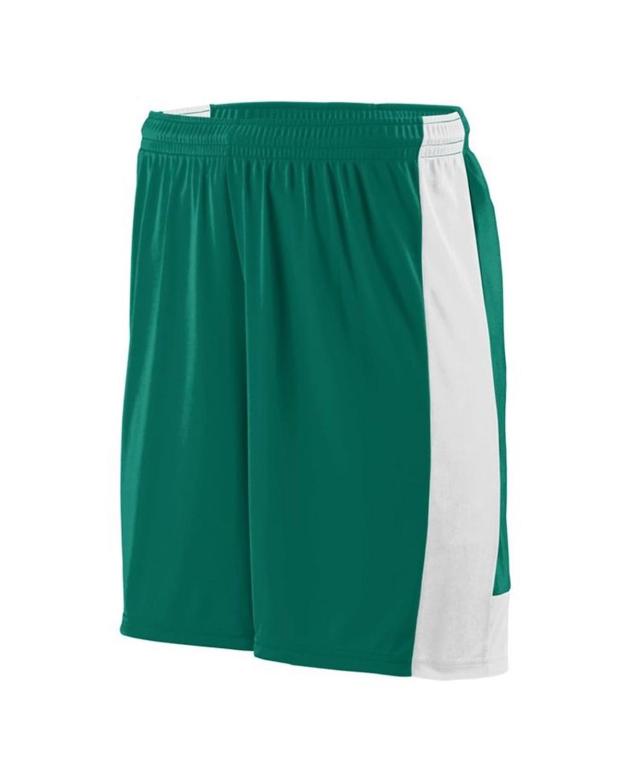1605 Augusta Sportswear Dark Green/ White