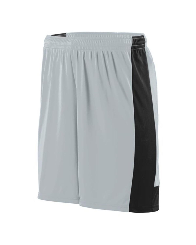 1605 Augusta Sportswear SILVER/ BLACK