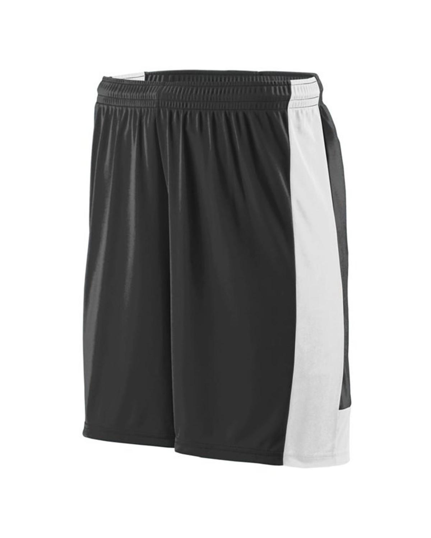 1605 Augusta Sportswear BLACK/ WHITE