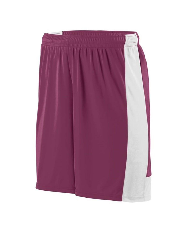 1605 Augusta Sportswear MAROON/ WHITE