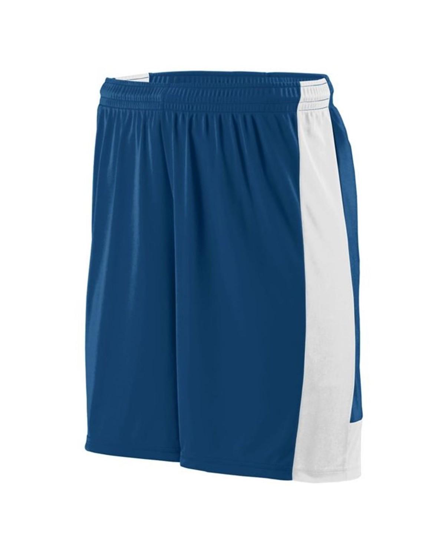 1605 Augusta Sportswear NAVY/ WHITE