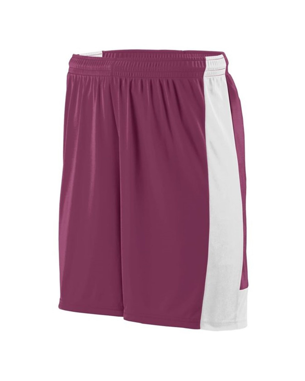 1606 Augusta Sportswear MAROON/ WHITE