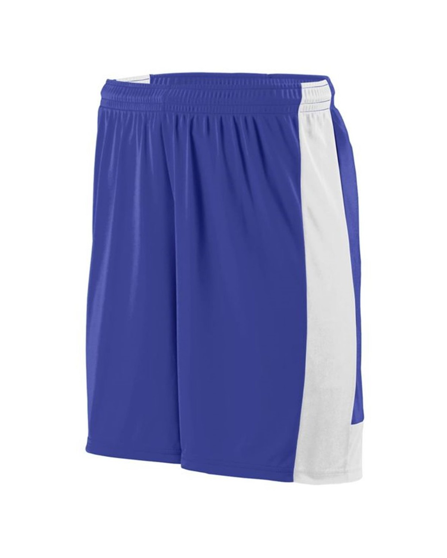 1606 Augusta Sportswear PURPLE/ WHITE